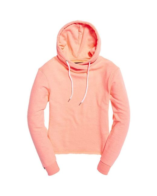 Superdry - G200016xof1 Sweatshirt Women Arancio Women's Sweatshirt In Orange - Lyst