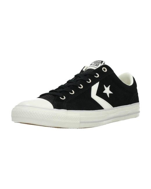 Converse Star Player Ox Men s Shoes (trainers) In Black in Black for ... efb3905e5
