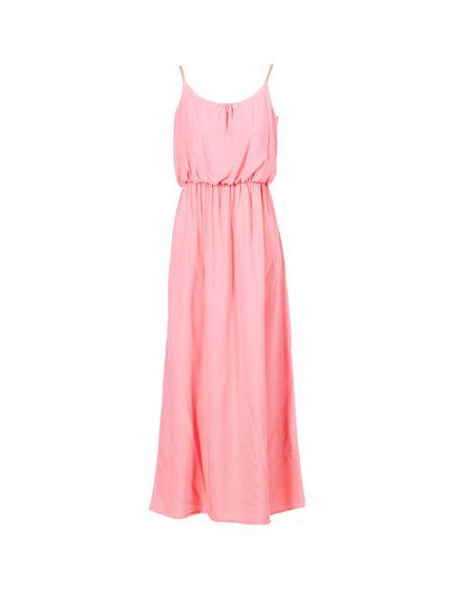 ONLY - Nova Women's Long Dress In Pink - Lyst