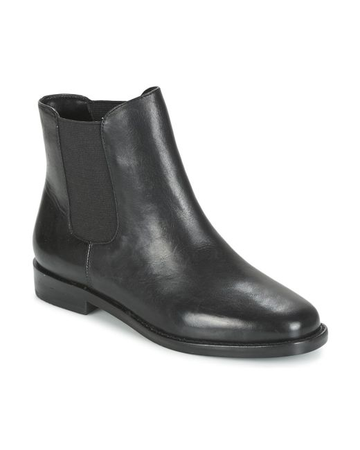 Lauren by Ralph Lauren | Belva Women's Mid Boots In Black | Lyst