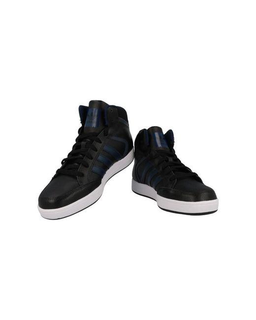 adidas varial metà scarpe da uomo (high top formatori) in nero, nero
