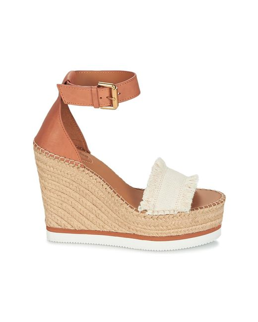 d449b1b26 ... Lyst See By Chloé - Natural Sb28152 Women's Espadrilles / Casual Shoes  In Beige ...