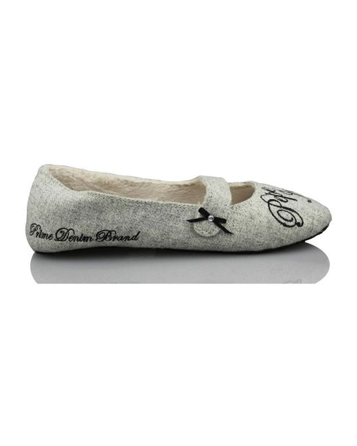 Pepe Jeans - Gray Go Home Comfortable Women's Slippers In Grey - Lyst