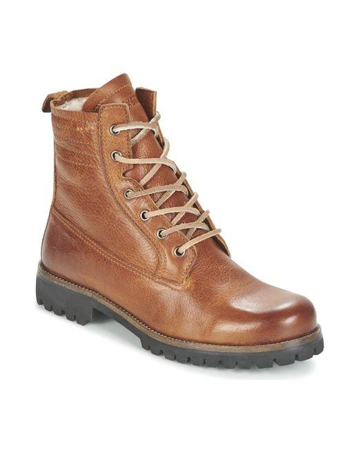 Blackstone | Mazine Women's Mid Boots In Brown | Lyst
