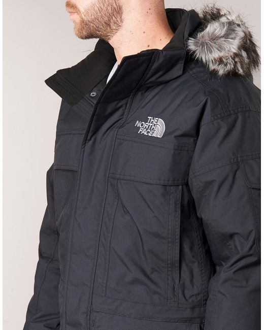 f12a109a51 ... The North Face - Black MCMURDO hommes Parka en Noir for Men - Lyst ...