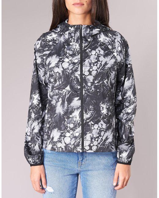 1192611c4305 ... Converse - Feather Print Blur 2.0 Jacket Women s In Black for Men ...