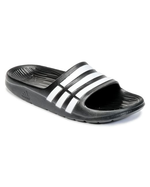 34e0feffdd11 adidas Duramo Slide K Girls s In Black in Black for Men - Save 36 ...