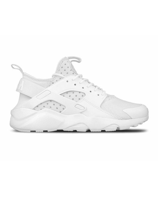 67b542585601 Nike Air Huarache Ultra Trainers White in White for Men - Save 45 ...