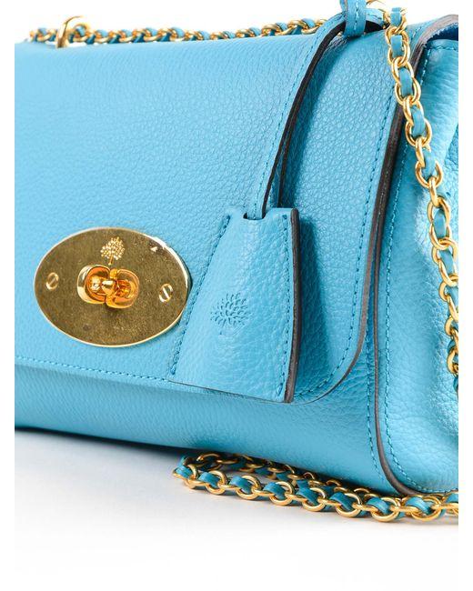 ad8ddbcf77b7 ... Mulberry - Blue Lily Small Bag - Lyst ...