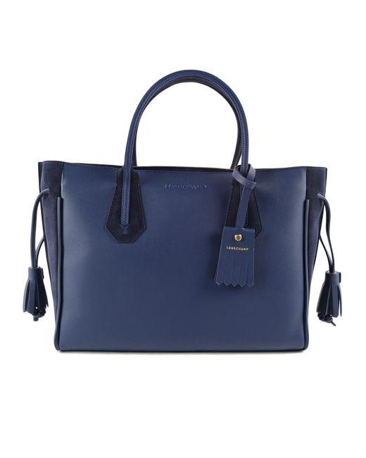 Longchamp - Blue Penelope Soft Bag M - Lyst