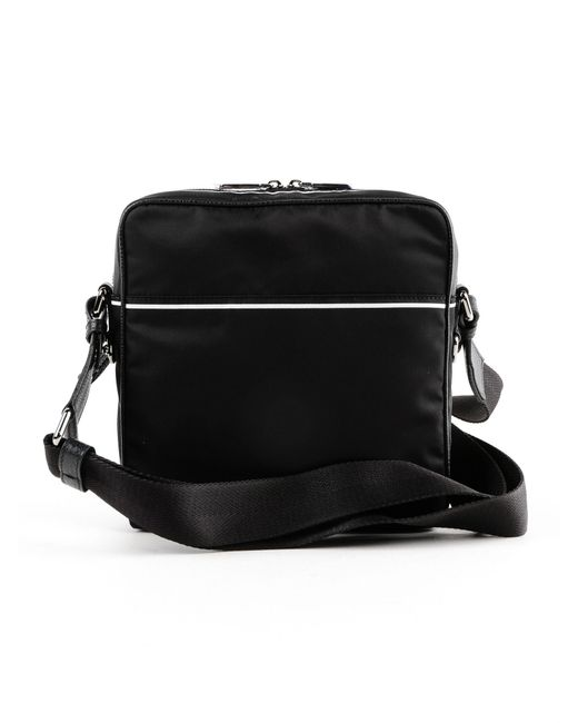 ... Lyst Dolce   Gabbana - Black Logo Print Crossbody for Men ... 9136f1c906416