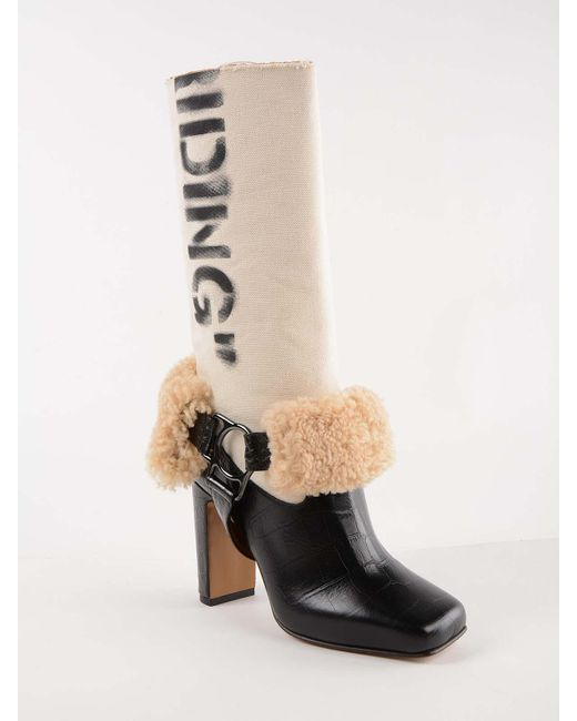 106d76836d ... Off-White c/o Virgil Abloh - Black For Riding Low Boots - Lyst ...