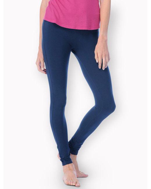 Splendid | Blue French Terry Legging | Lyst