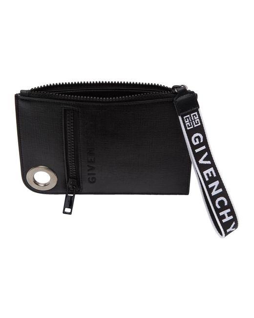 ea783a8e0e6d ... Givenchy - Black Slim Jaw Crossbody Bag for Men - Lyst ...