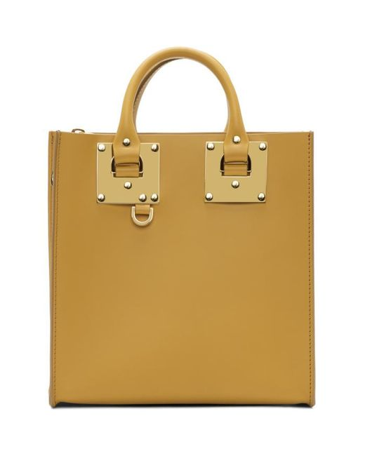 Sophie Hulme | Yellow Square Albion Tote | Lyst