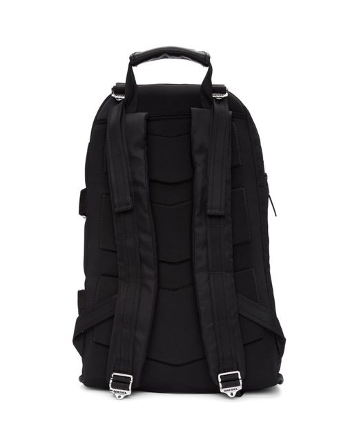8b94646620b4 ... DIESEL - Black F-law Backpack for Men - Lyst ...