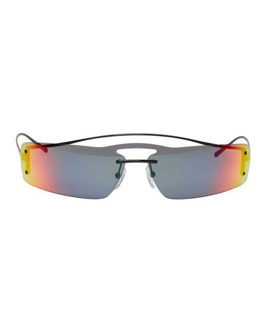 Prada - Multicolor Black Gradient Futuristic Sunglasses - Lyst
