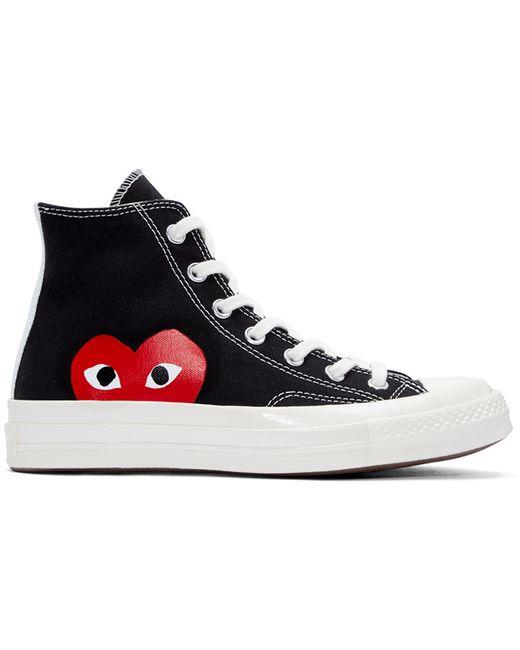 Play Comme des Garçons | Black Half Heart Converse Edition High-top Sneakers for Men | Lyst