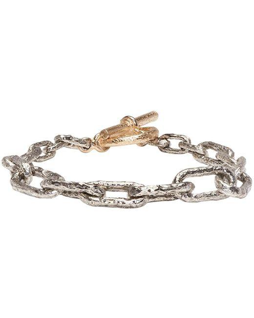 Pearls Before Swine | Metallic Silver & Gold Link Bracelet | Lyst