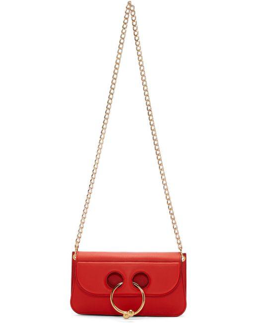 J.W.Anderson | Red Small Pierce Bag | Lyst