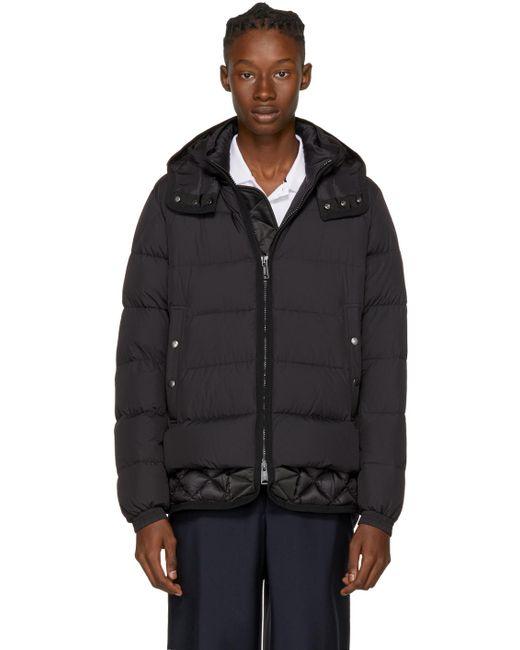 Moncler | Black Down Tanguy Jacket for Men | Lyst