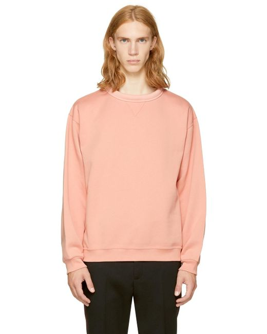 Acne | Pink Fint Sweatshirt for Men | Lyst