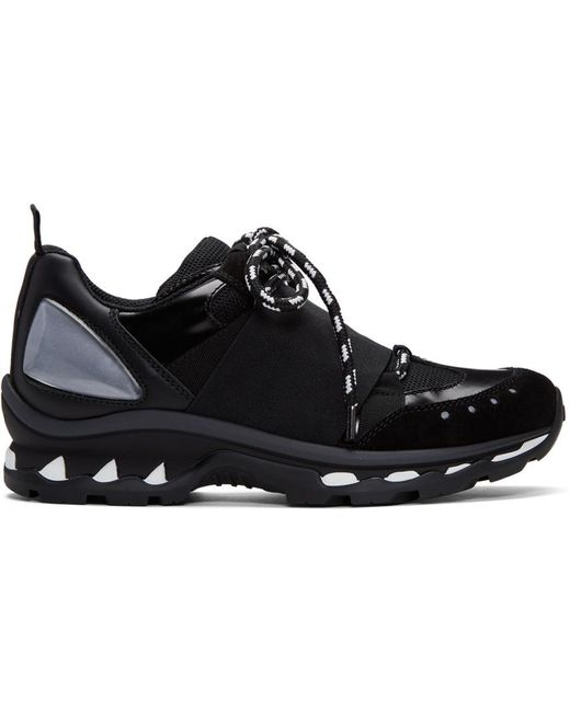 Givenchy | Black Hybrid Trainer Sneakers for Men | Lyst