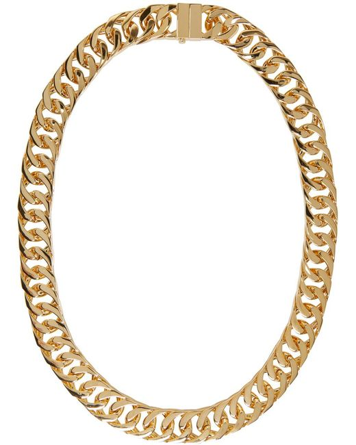 Ambush | Metallic Gold New Classic Chain 2 Necklace for Men | Lyst