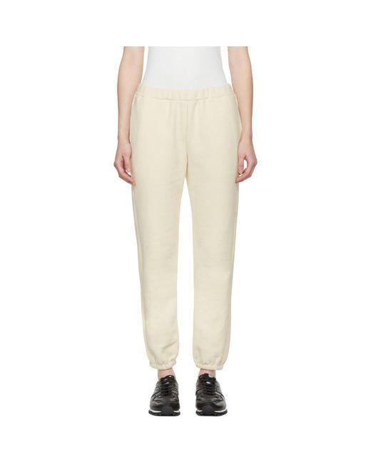 Simon Miller - Off-white Yuba Lounge Pants - Lyst