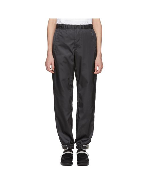 Prada - Black Ssense Exclusive Grey Arca Edition Lounge Pants - Lyst