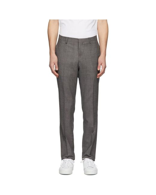 Tiger Of Sweden - Multicolor ブラウン Talthe トラウザーズ for Men - Lyst