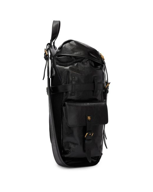 f7620f90f795 ... Gucci - Black Multi Pocket Flap Backpack for Men - Lyst ...