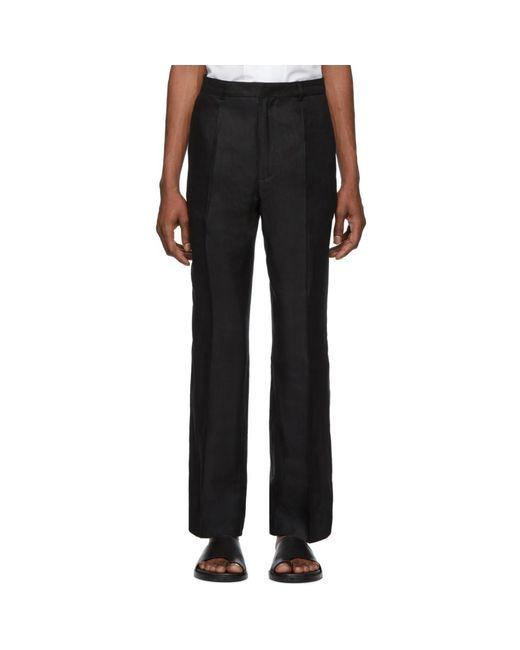 Jacquemus - Black ブラック Le Pantalon Yvan トラウザーズ for Men - Lyst