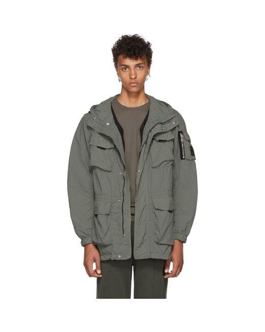 Belstaff - Green Pallington Hooded Jacket for Men - Lyst