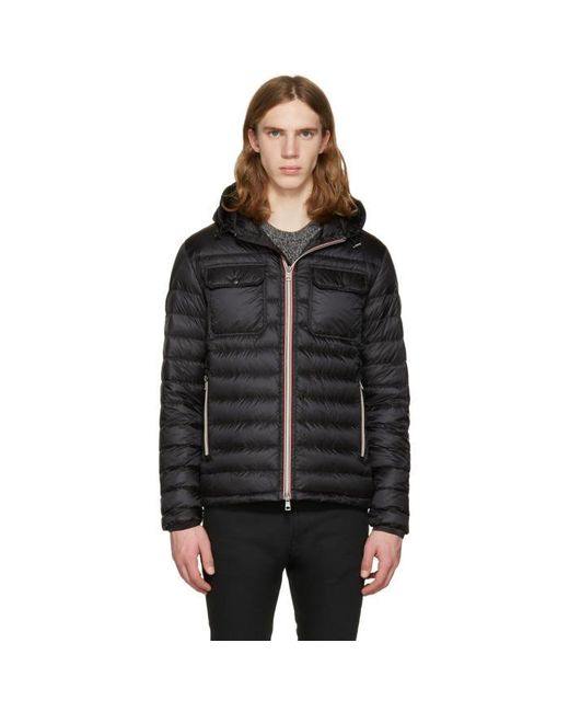 Moncler | Black Down Douret Jacket for Men | Lyst