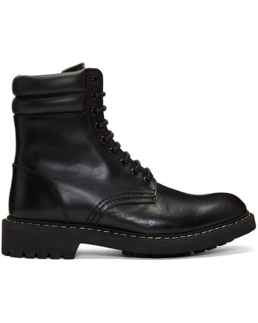 Givenchy | Black Tank Boots for Men | Lyst