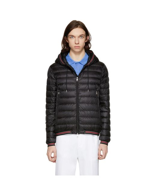 Moncler - Black Down Eliot Jacket for Men - Lyst