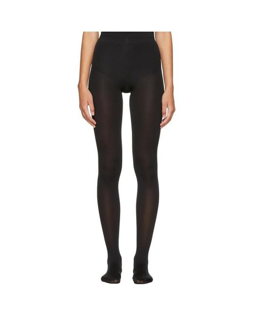 Wolford | Black Mat Opaque 80 Tights | Lyst