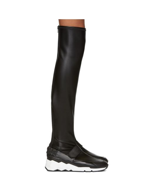 Pierre Hardy - Black Flash Comet Over-the-knee Boots - Lyst