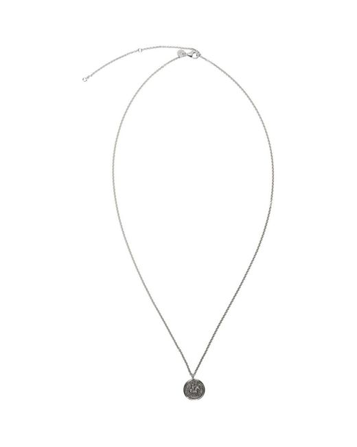 Tom Wood - Metallic Silver Coin Pendant Necklace for Men - Lyst