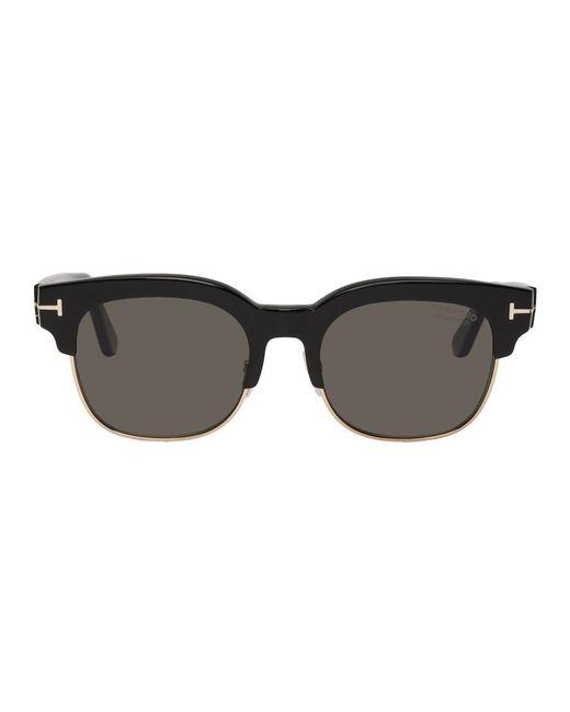72f85b8b34 Lunettes de soleil noires Harry Tom Ford pour homme en coloris Noir ...