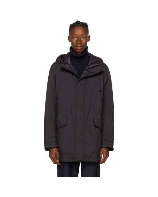 Moncler | Blue Navy Down Bresle Jacket for Men | Lyst
