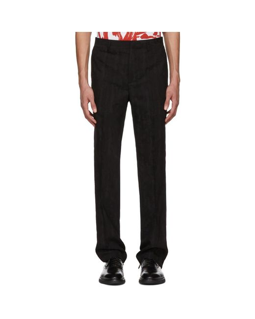 Givenchy - Black Jacquard Embroidered Star Trousers for Men - Lyst