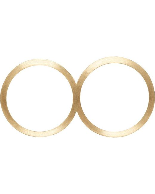 Sophie Bille Brahe | Metallic Gold Rue De Diamant Double Ring | Lyst