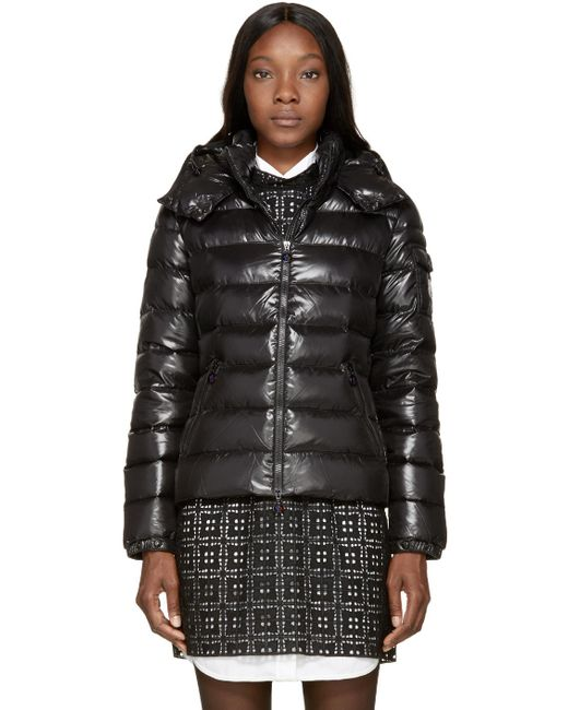 Moncler | Black Down Bady Jacket | Lyst
