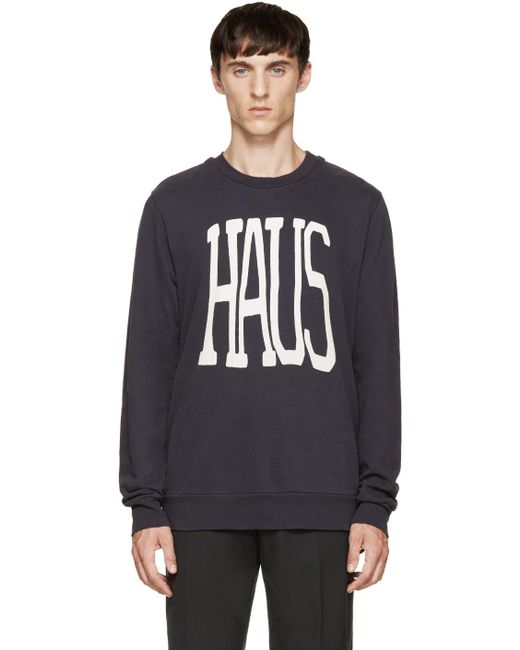 Paul Smith | Blue Haus Pullover for Men | Lyst