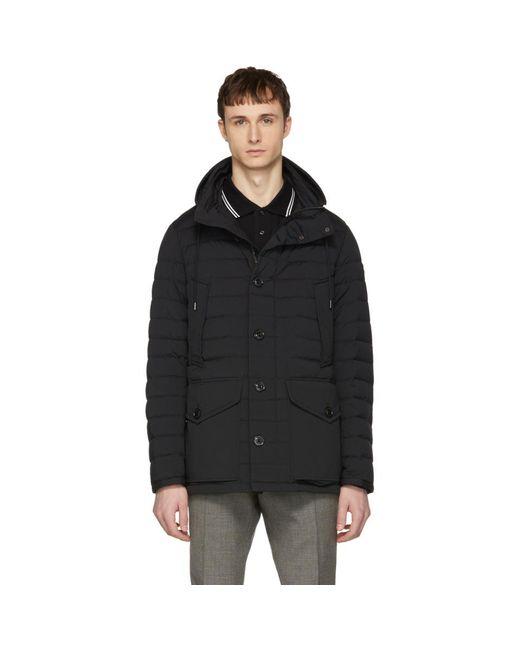 Moncler - Black Down Cigales Jacket for Men - Lyst