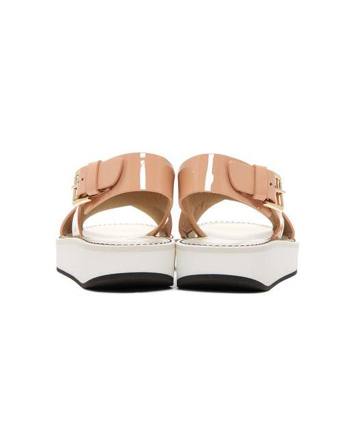 Cheap Affordable Cheap Sale Browse Flamingos Patent Avalon Sandals Official Sale Comfortable 3SwJM