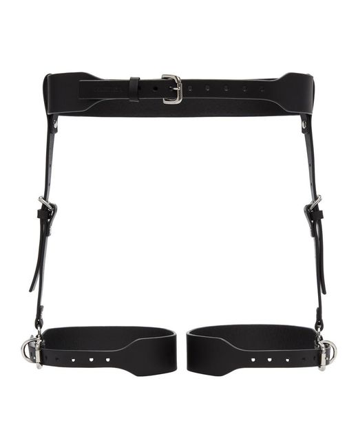 Fleet Ilya - Black Suspender Garter Harness Belt - Lyst