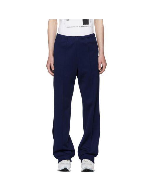 Maison Margiela - Blue ブルー トラック パンツ for Men - Lyst